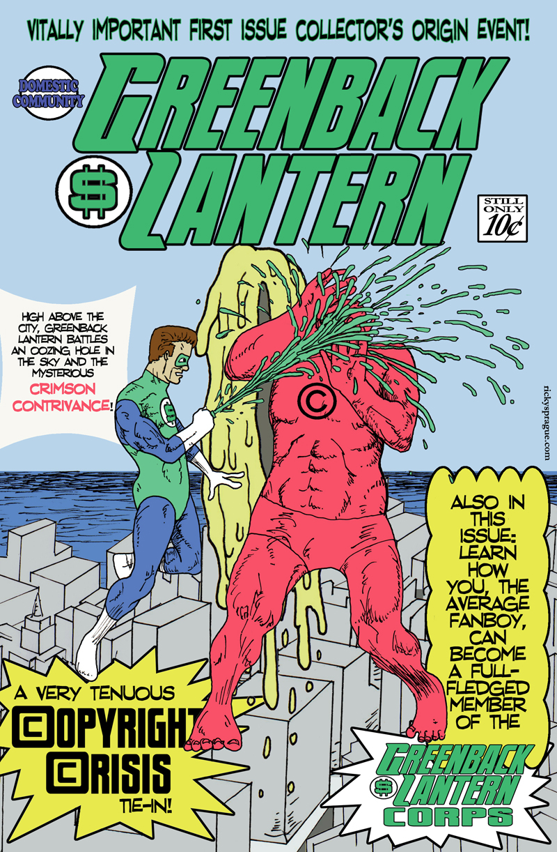 Greenback Lantern Cover Image